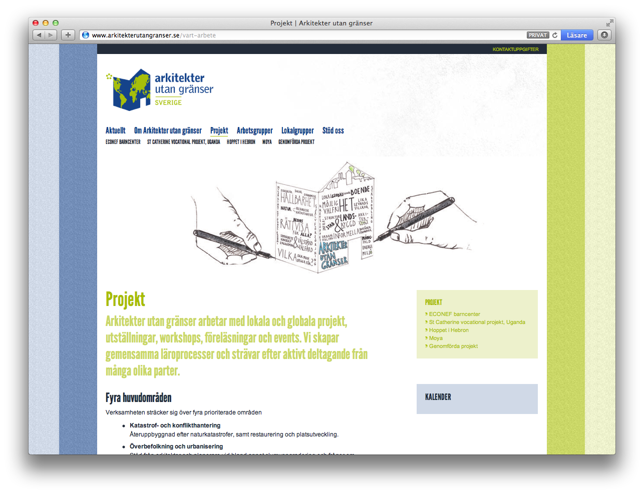 Arkitekter utan granser - projekt
