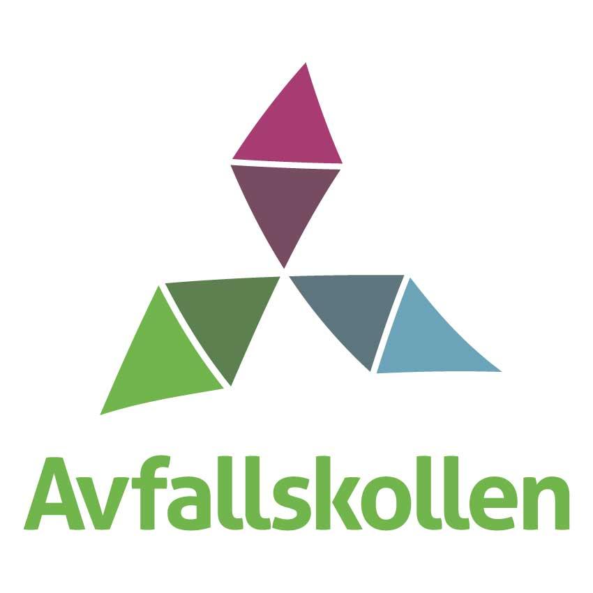 Avfallskollen logotype vit bakgrund